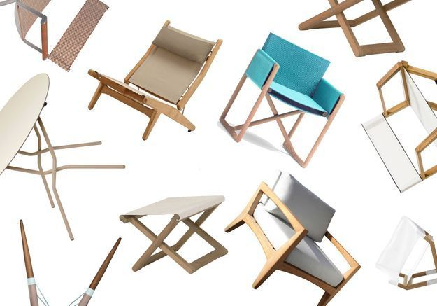 Pratiques les meubles de jardin pliants !
