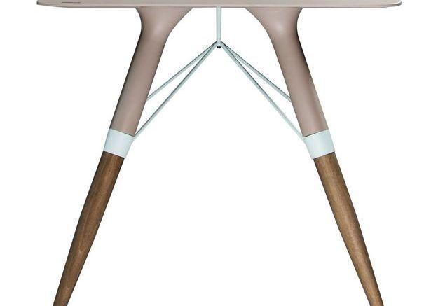 Une table design pliante