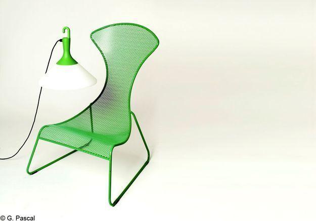 Du mobilier design dans le jardin