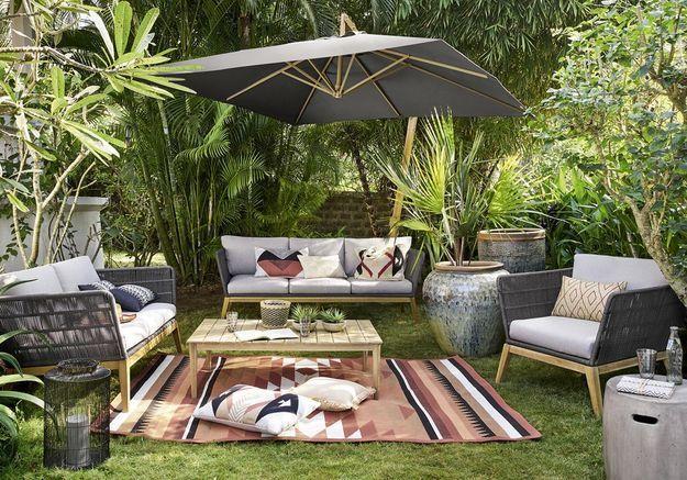 Aménager un salon outdoor au fond du jardin