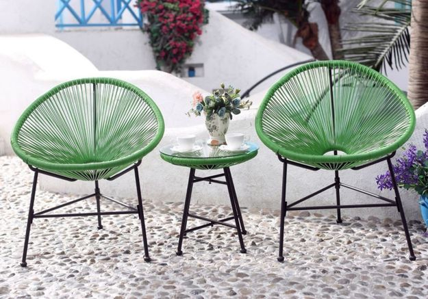 salon de jardin pas cher notre s lection de meubles canons pour le jardin elle d coration. Black Bedroom Furniture Sets. Home Design Ideas