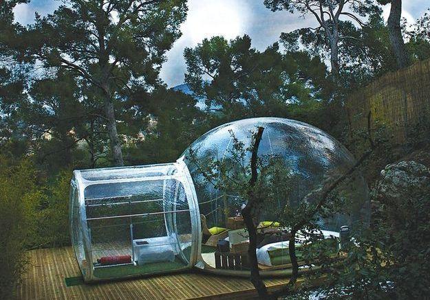 am nager son jardin fa on glamping elle d coration. Black Bedroom Furniture Sets. Home Design Ideas