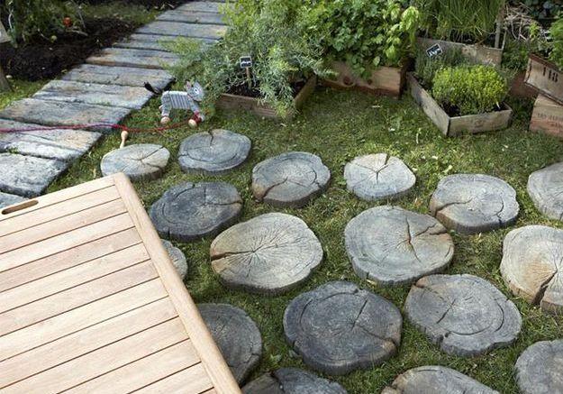 6 bonnes idées déco pour une allée de jardin - Elle Décoration