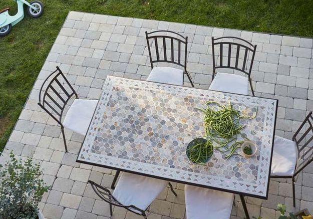 Le béton pour un revêtement de terrasse pas cher