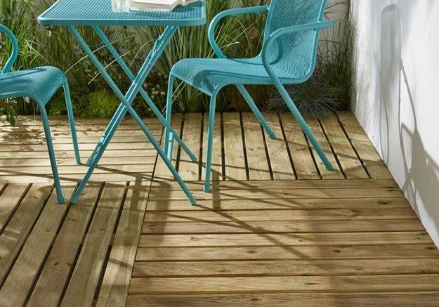 Le bois pour un revêtement de terrasse pas cher