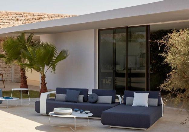 Un salon de jardin design Manutti