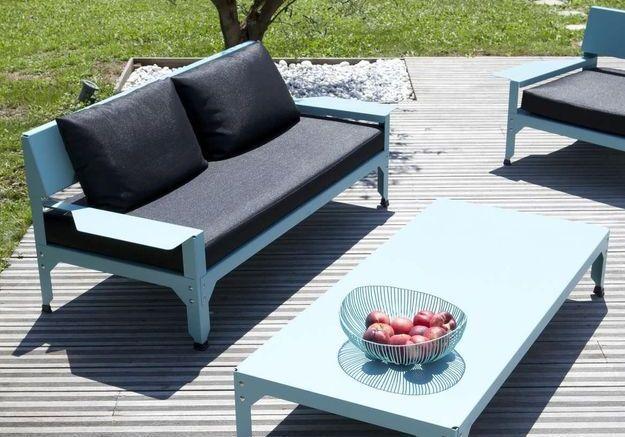 salon de jardin design notre s lection canon pour tous les budgets elle d coration. Black Bedroom Furniture Sets. Home Design Ideas