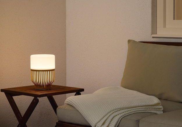 Une lampe de jardin IKEA