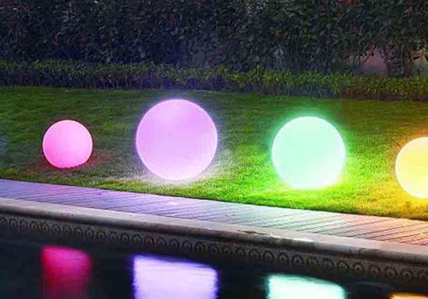 Boules Lumineuses Castorama