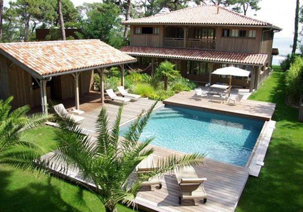 17 id es d am nagements de piscines qui font r ver elle d coration. Black Bedroom Furniture Sets. Home Design Ideas