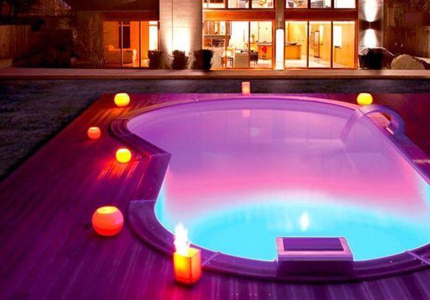 Eclairer sa piscine avec un projecteur LED
