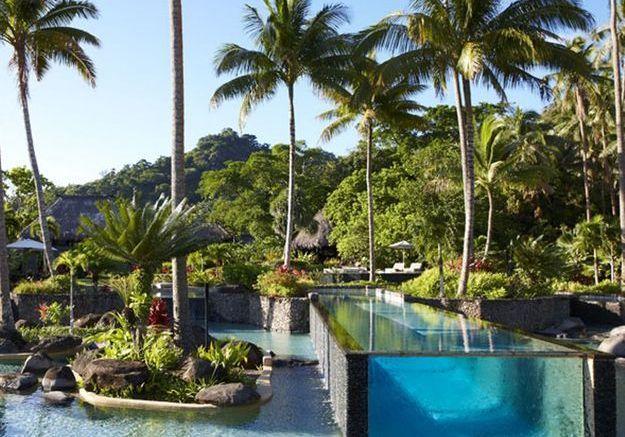 Piscine dans les îles Fidji