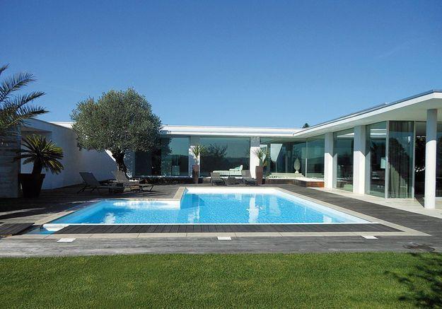 Avant n°1 : une piscine rectangulaire