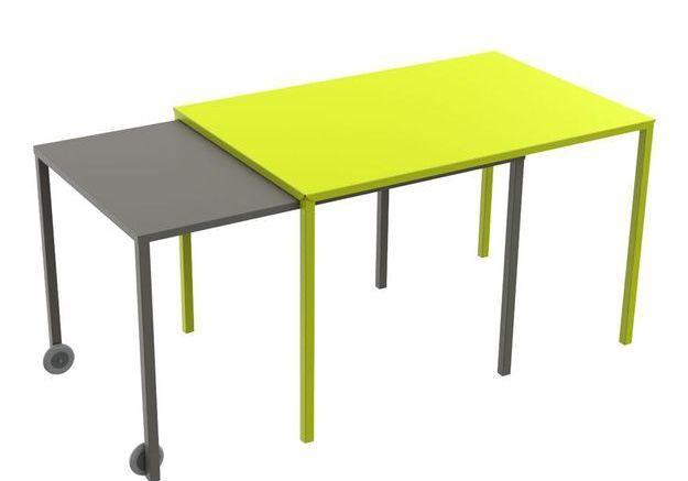 Une table de jardin pratique