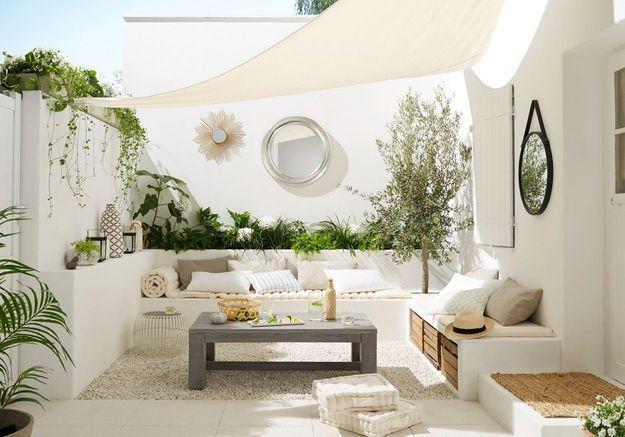 Les 8 id es piquer cette terrasse elle d coration - Deco terrasse et jardin ...