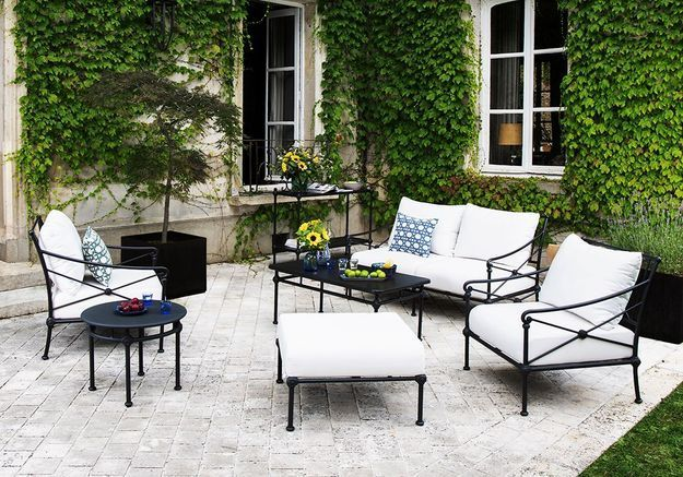 Une terrasse style campagne