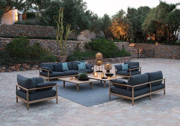 Une terrasse zen