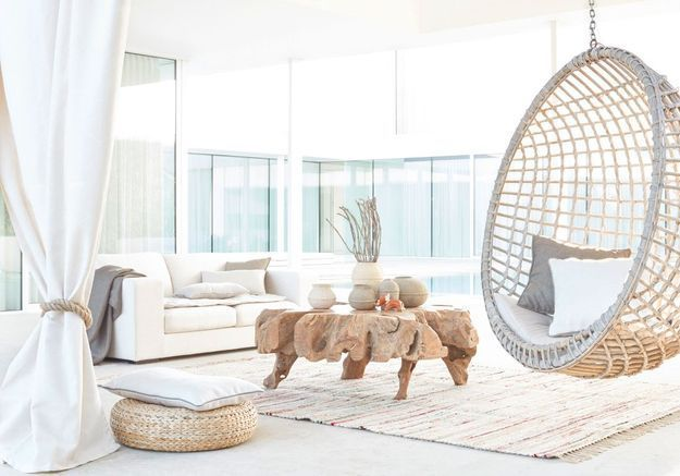 Une terrasse zen grâce au blanc