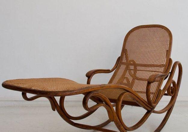 Rocking Chair Modèle 7500 Antique de Thonet