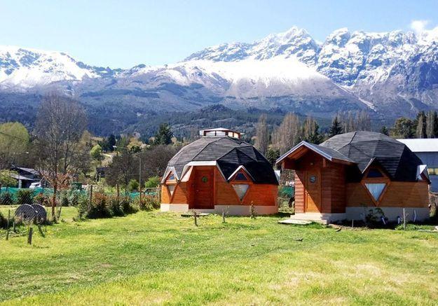 Une maison-dôme en Argentine