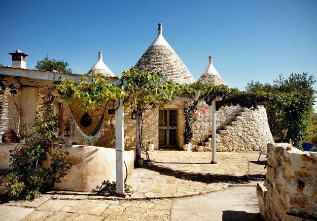 Une maison-dôme en Italie