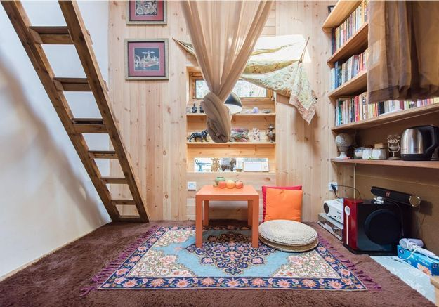 Une tiny house en Chine