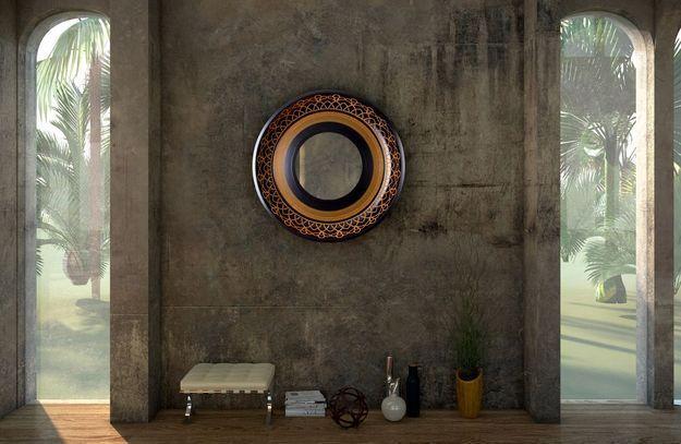 Miroir Naperon par Helena Costa & Carlos Costa pour Alma de Luce