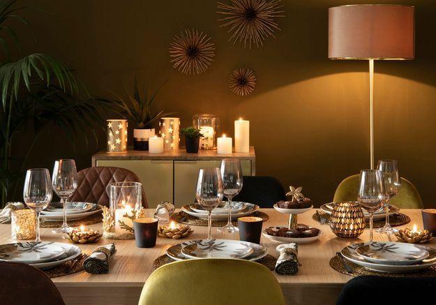 L'idée qu'on pique à la collection Noël Maisons du Monde : assumer le total look doré