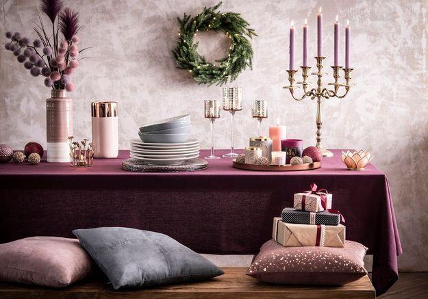 L'idée qu'on pique à la collection Noël Maisons du Monde : mixer déco de Noël et déco de tous les jours