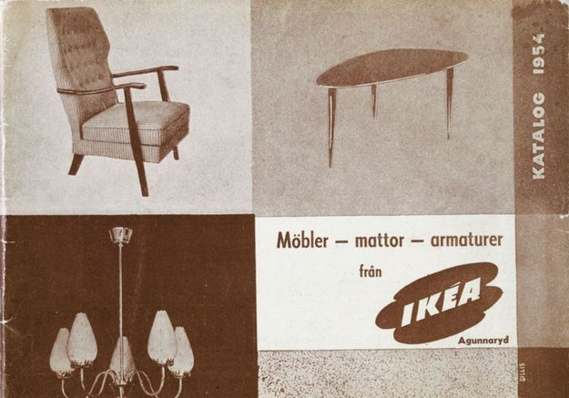 Catalogue IKEA 1954