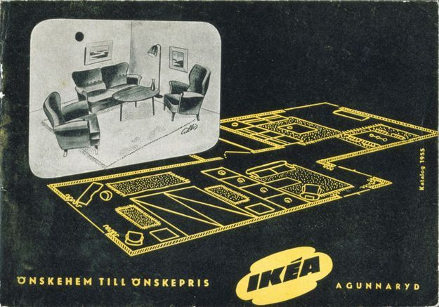 Catalogue IKEA 1955