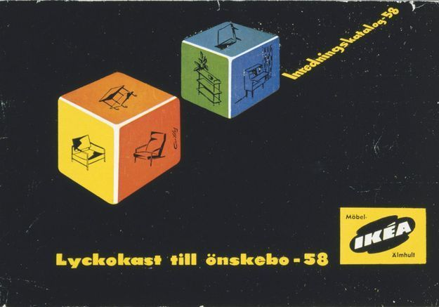 Catalogue IKEA 1958