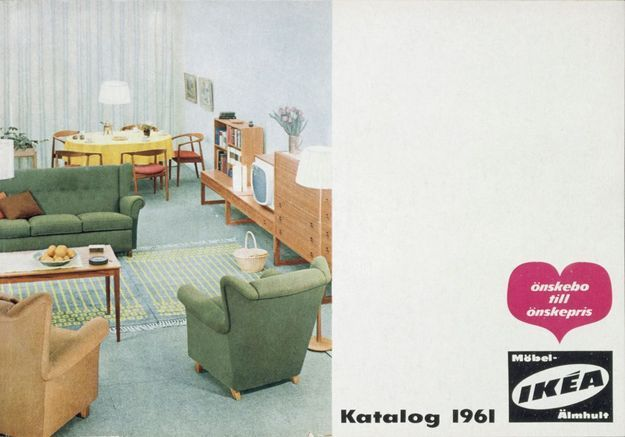 Catalogue IKEA 1961