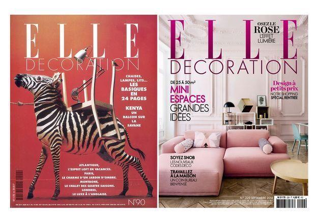 #30anselledeco : découvrez toutes les couvertures du magazine ELLE Décoration, de 1987 à aujourd'hui !