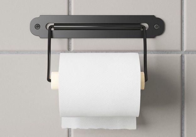Porte-rouleau pour WC ikea
