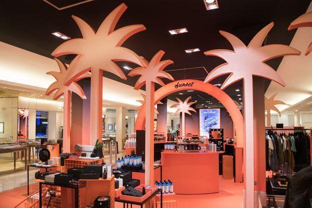 Los Angeles s'expose au Bon Marché, et on peut y trouver les produits lifestyle siglés Goop, la marque de Gwyneth Paltrow