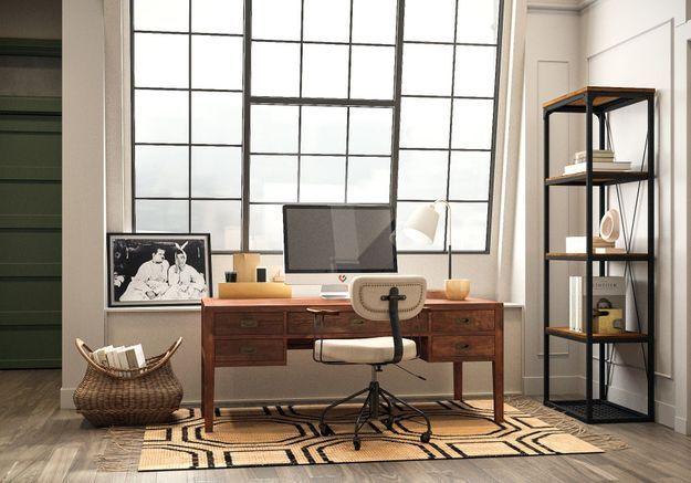 Chez Monica et Chandler : le bureau