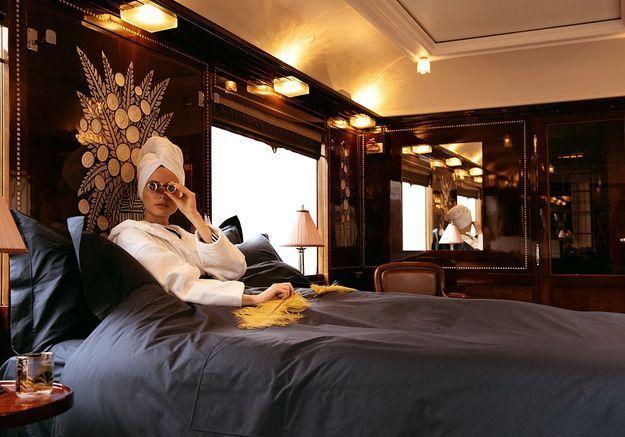 #ELLEDécoCrush : l'Orient Express et sa très luxueuse collection d'objets de voyage