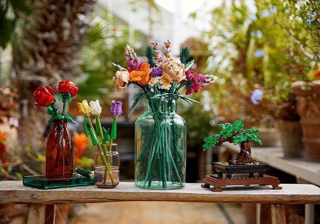 #ElleDécoCrush : la gamme botanique de Lego