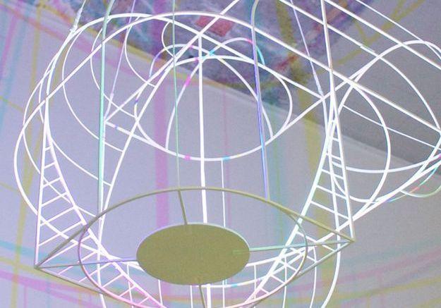 Lampe CMYK Big par Dennis Parren