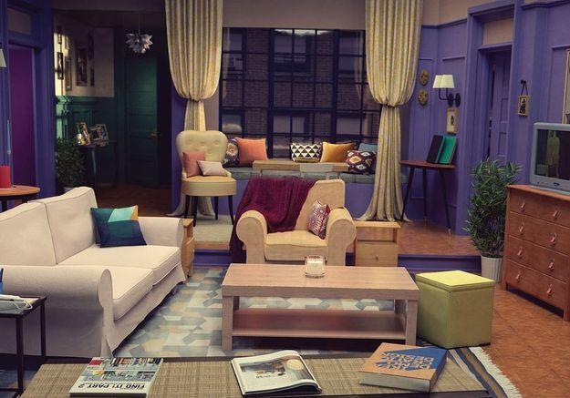 Grâce à IKEA, on peut désormais vivre dans l'appartement de « Friends »