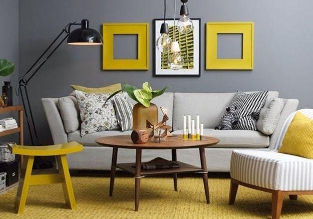 Le jaune moutarde pimente notre intérieur