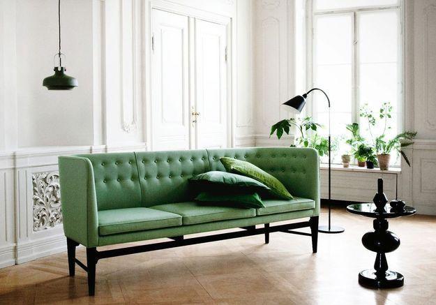 Banquette verte