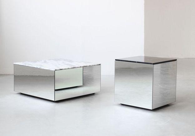 Table basse en marbre Kristina Dam Studio