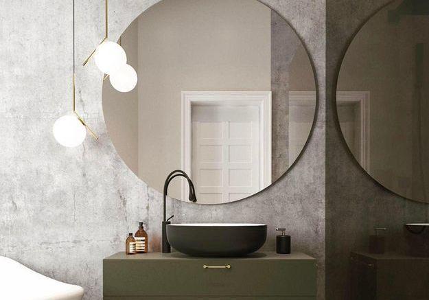 Zoom sur le miroir rond : l'objet déco ultra tendance qui agrandit n'importe quelle pièce
