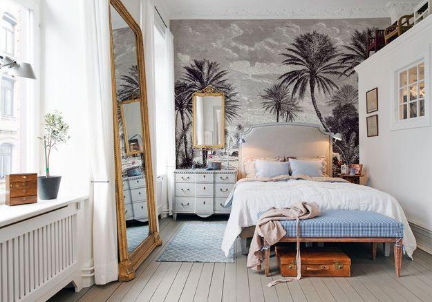 La chambre à l'ancienne Aufildescouleurs.com