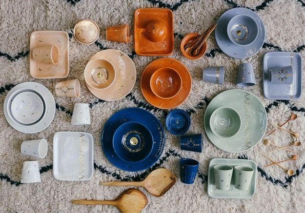 La vaisselle marocaine de Chabi Chic