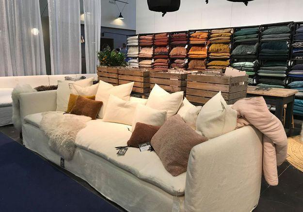 Canapé modulable Maison de Vacances