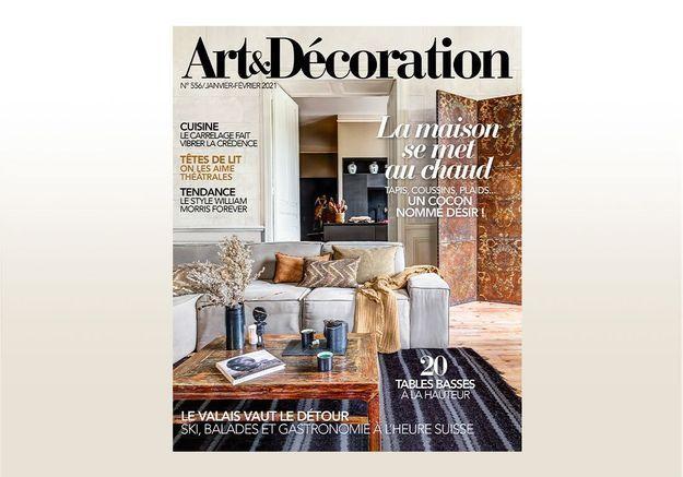 Nouveau numéro d'Art & Décoration : et si on consommait la déco autrement ?