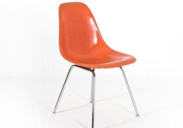 Chaises DSX en Fibre de Verre par Charles & Ray Eames pour Herman Miller, Set de 4